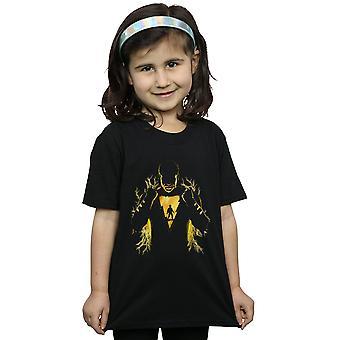 DC Comics Girls Shazam Lightning Silhouette T-Shirt