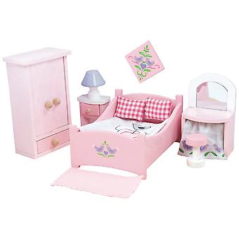 Le Toy Van Doll House Sugar Plum sypialnia