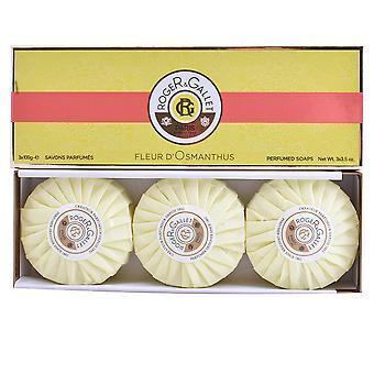 Roger & Gallet Fleur D'Osmanthus Savons Parfumés 3 X 100 Gr Unisex