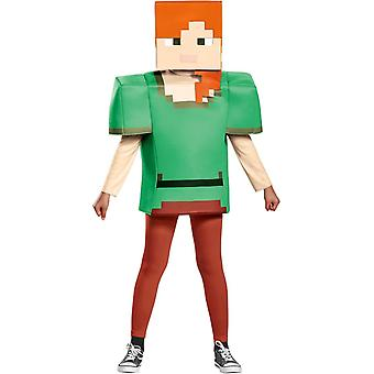 Alex Minecraft Costume for Girls