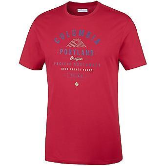 Columbia Leathan Trail EM0729613 t-shirt universel hommes d'été