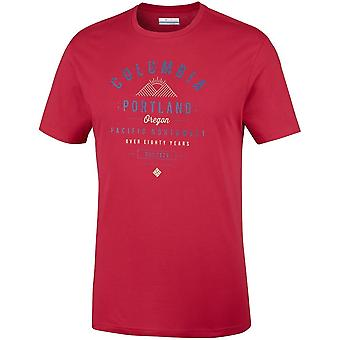 Columbia Leathan Trail EM0729613 universal summer men t-shirt