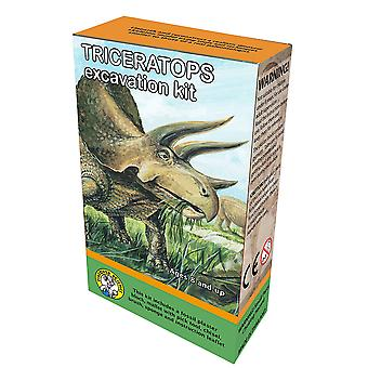 Discover Science Triceratops Excavation Kit