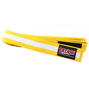 Tatami Fightwear Kids BJJ Rank Yellow/White Belt