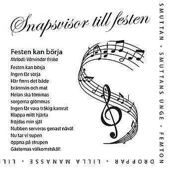 Serviette mit schwedischem Snapsvisor 2-Package 40pcs