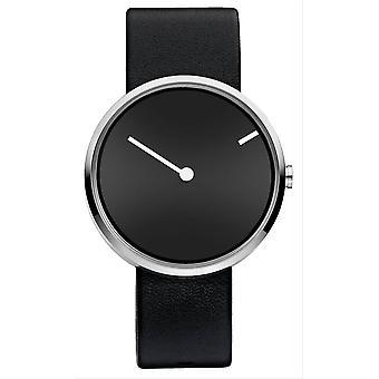 Jacob Jensen Curve Series Watch - Black/Black