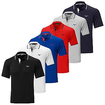Mizuno Mens Quick Dry Plus Golf Polo Shirt