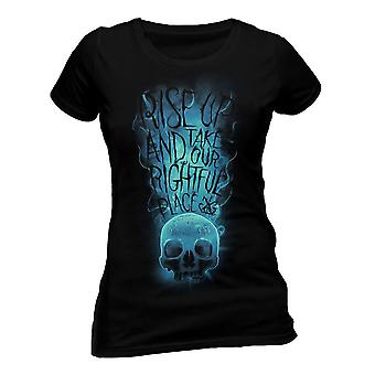Women's Crimes of Grindelwald Rise Up Fitted T-Shirt
