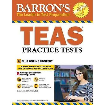 Barron's Teas Practice Tests by Sandra Swick - 9781438010281 Book
