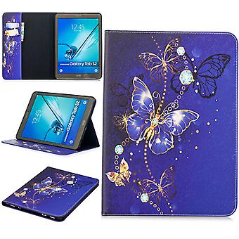 For Samsung Galaxy Tab S5e T720F T725F Motif 33 Bag Art Leather Case Case