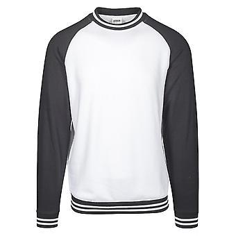 Urban Classics heren Sweatshirt contrast College crew
