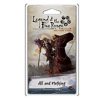 Legenden om de fem ringe alle og intet Dynasty Pack Card spil