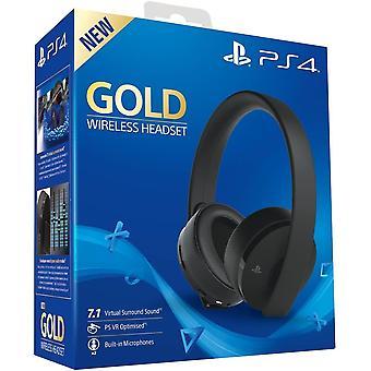 Oficjalny bezprzewodowy zestaw słuchawkowy PlayStation 4 Gold 7,1 PS4
