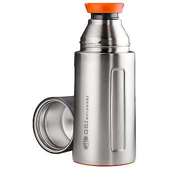 GSI Outdoors Brushed Glacier Stainless Vacuum Bottle 0.5L