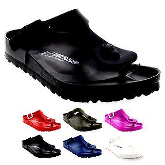Unisex aikuiset Birkenstock Gizeh Toe Post EVA solki Holiday Beach sandaalit