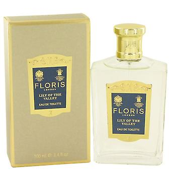Lírio floris do vale eau de toilette spray por floris 496845 100 ml