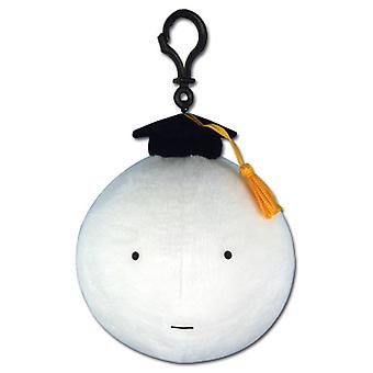Key Chain - Assassination Classroom - Koro Sensei Serious WHITE ge52917