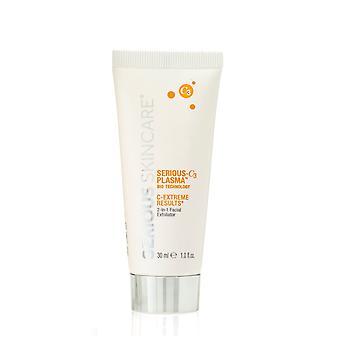 Serious Skincare C-3 PLASMA C-Extreme Résultats 2-en-1 Facial Exfoliator 1 oz
