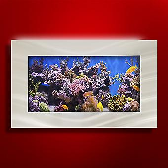 Aussie Aquariums 2.0 Wall Mounted Aquarium - Standard Seascape