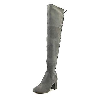 Charles by Charles David Womens Ollie Suede Round Toe Over Knee Fashion Boots