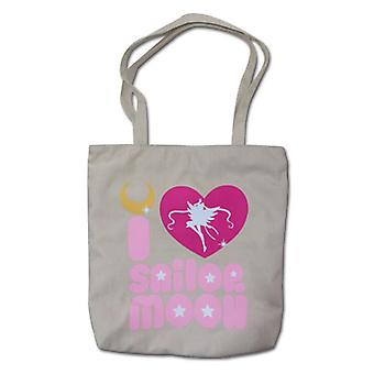 Sac fourre-tout - Sailor Moon - New I Love Sailormoon Toys Licensed ge82137