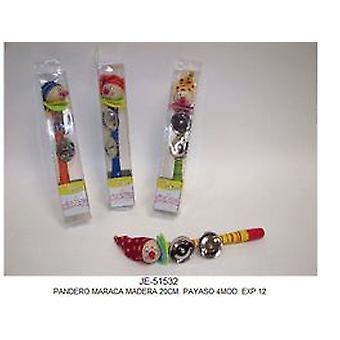 Cladellas  Pandero Maraca Wood (Babies and Children , Toys , Educative And Creative)