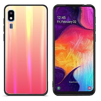 Back Cover Aurora Glass for Samsung A2 Core Orange
