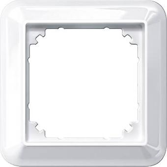 Merten 1x Frame Atelier-M Polar white glossy 388119