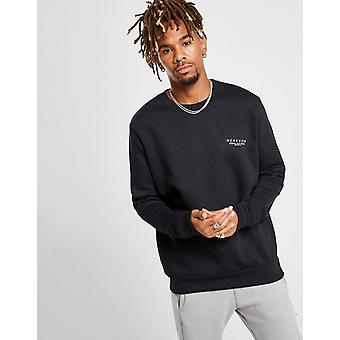 New McKenzie Men's Essential Crew Sweatshirt Black