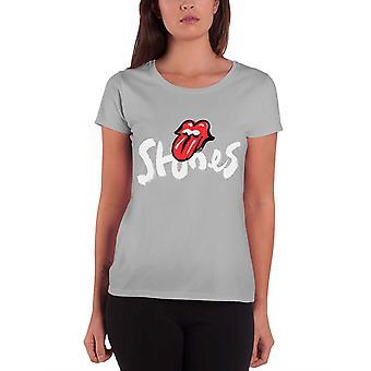 The Rolling Stones T Shirt No Filter Tour Brush Strokes new Official Womens Grey