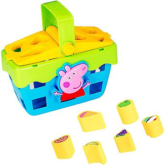 Peppa Pig Form Sortierer Picknick Set