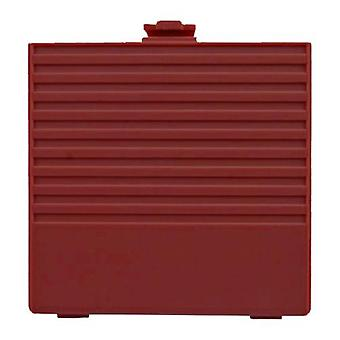 Replacement battery cover door for nintendo game boy dmg-01 - red