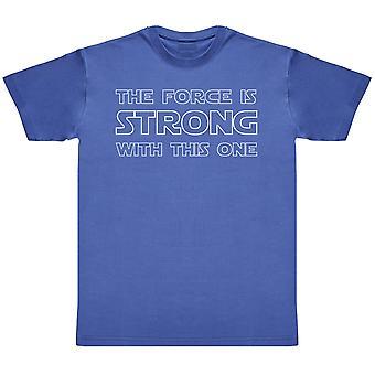 Styrkan är stark med denna en-mens T-shirt