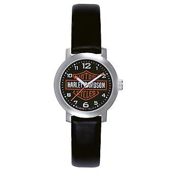 Harley Davidson 76L10 Ladies Bar & Shield Wristwatch