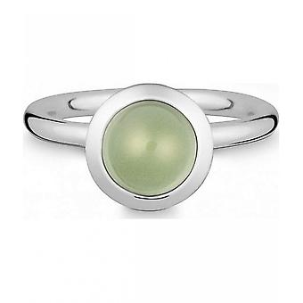 Quinn - Silver ring with prasiolite - 021838635