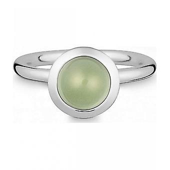 טבעת קווין-כסף עם פרסיליט-021838635