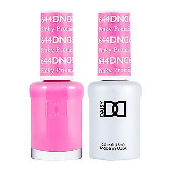 Dnd Duo Gel & Nail Polish Set - Pinky Promise 644 - 2x15ml