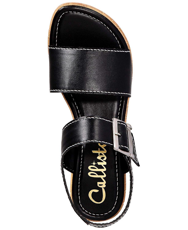 Callisto Womens shelton Open Toe Casual Ankle Strap Sandales hTyfeF