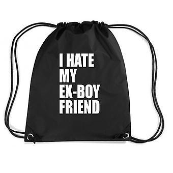 Black backpack fun3070 i hate my ex boyfriend
