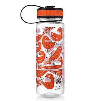 Nicky James Graphic Bird Drinking Bottle