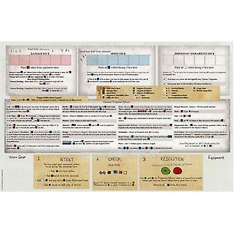 Player Reference Mat: Outbreak Undead 2E: The Survival Horror Simulation RPG