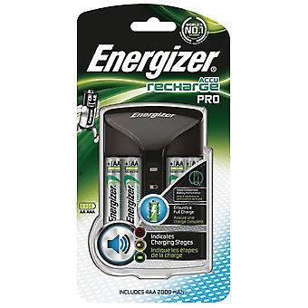 Energizador, cargador de batería