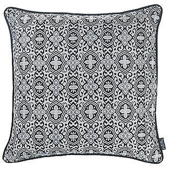 "17 ""x 17"" Grey Jacquard Aristo decorative arunca perna Cover"
