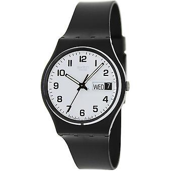 Swatch GB743 Maschio Nero Plastica 34MM Quartz Analogico Orologio