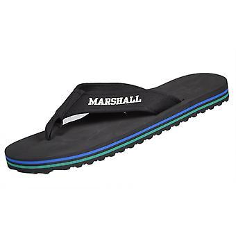 Franklin & Marshall Ua984 Unisex Black Flip Flop