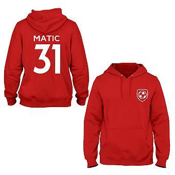 Nemanja Matic 31 Manchester United Style Player Hoodie