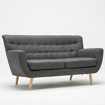 Loft 3 Sitzer Sofa Grau