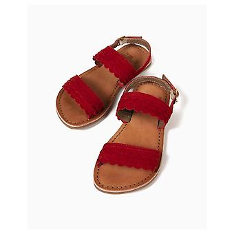 Zippy Scales Red Sandals