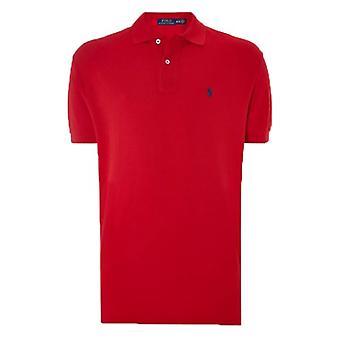 ラルフ ・ ローレンのポロシャツ赤クラシック フィット