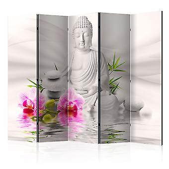 Artgeist Room Divider Buddha And Orchids Ii Room Dividers (Decoration , Screens)
